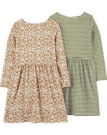 2-Pack Jersey Dresses