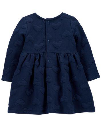 Heart Cozy Jacquard Dress