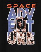 T-shirt en jersey à imprimé de l'espace, , hi-res