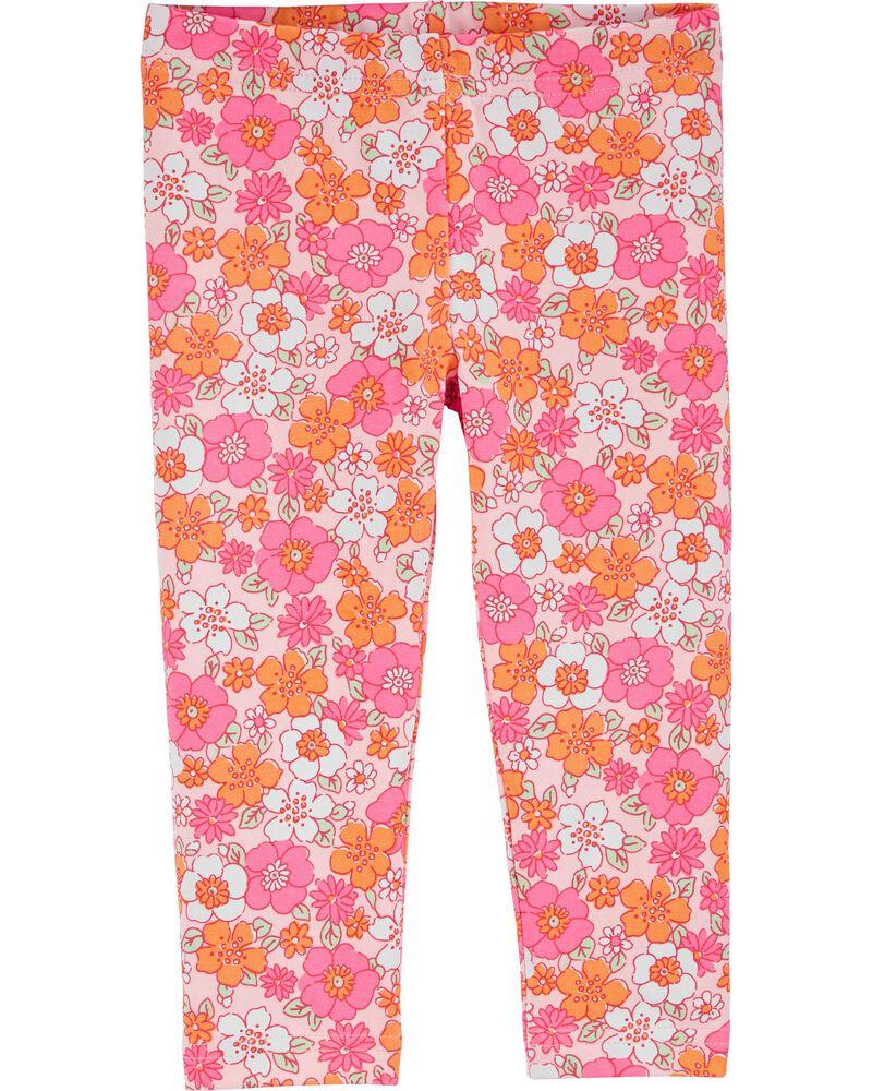Legging capri Flower Power, , hi-res