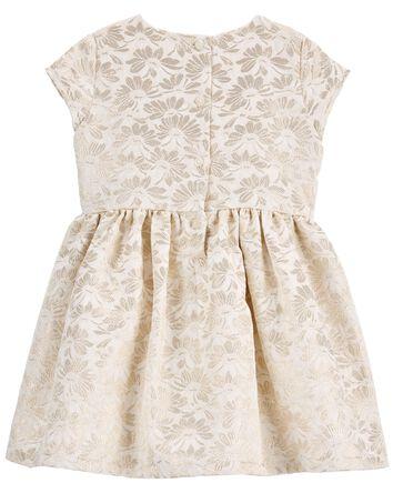 Jacquard Woven Dress