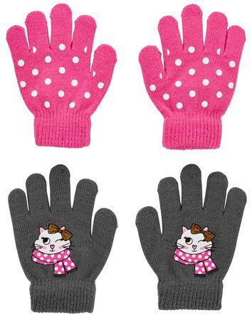 KOMBI 2-Pack Cat Mini Glove Set