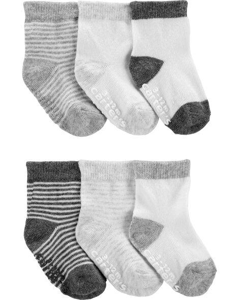 6 paires de socquettes