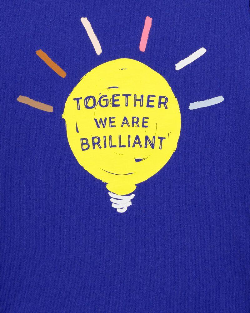 T-shirt en jersey Ampoule brillante, , hi-res