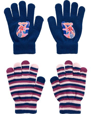 Kombi 2-Pack Koala Gripper Gloves
