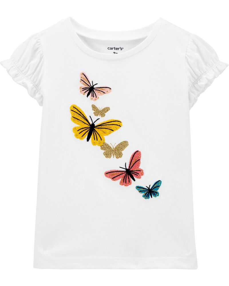 Butterfly Jersey Top, , hi-res