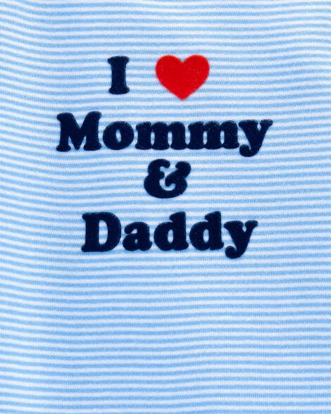 Love Mommy & Daddy Collectible Bodysuits