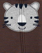 Tiger 2-Way Zip Cotton Sleep & Play, , hi-res