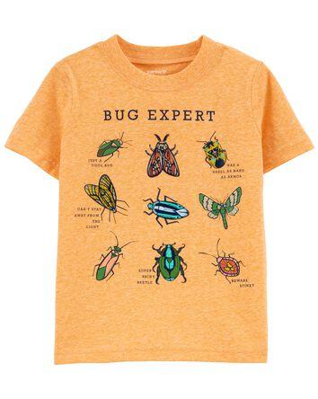 T-shirt en jersey à insecte