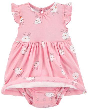 2-Piece Easter Dress & Cardigan Set