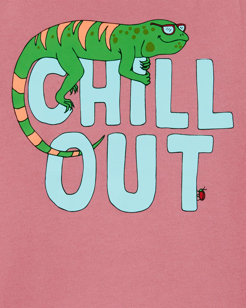 T-shirt en jersey Chill Out Iguana, , hi-res