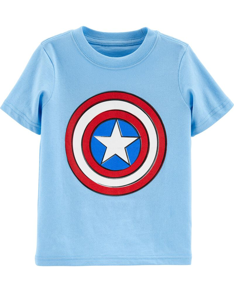 Glow Captain America Tee, , hi-res