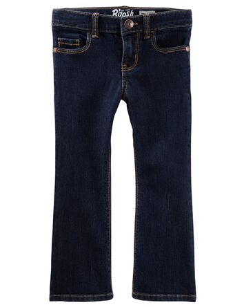 Jeans botte étroite  - délavage hér...
