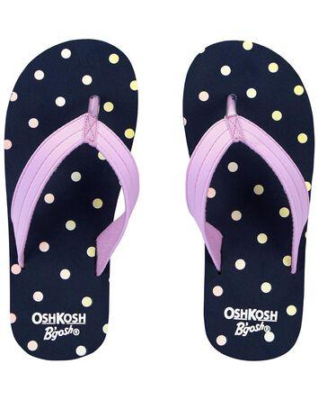 Sandales de plage à motif de pois