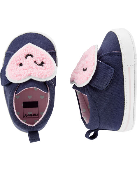 Carter's Heart Baby Shoes