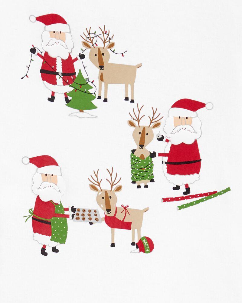 Pyjama 2 pièces père Noël, , hi-res