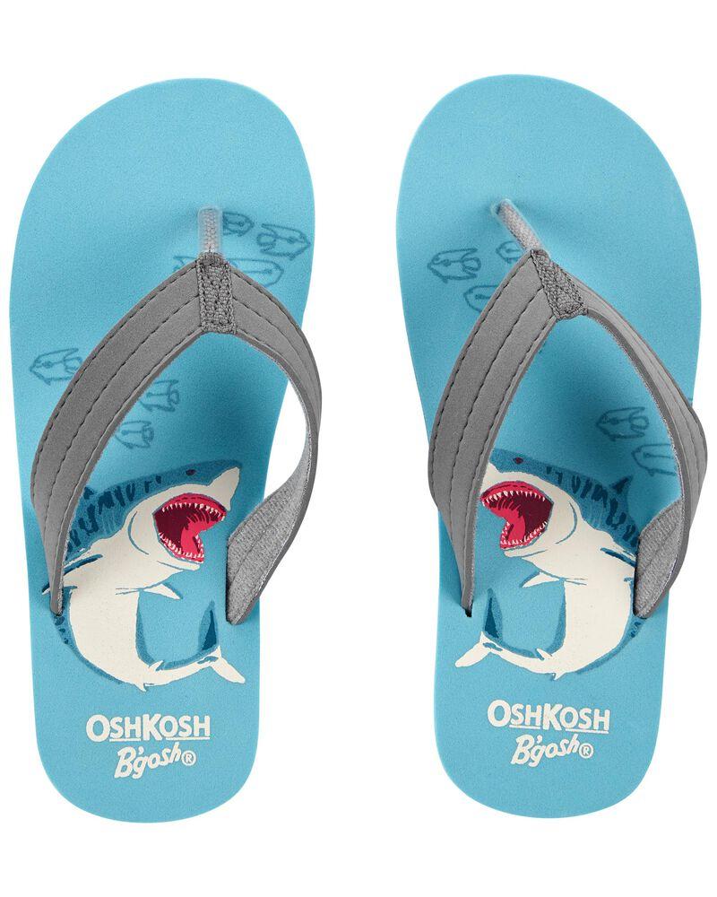 Shark Flip Flops, , hi-res