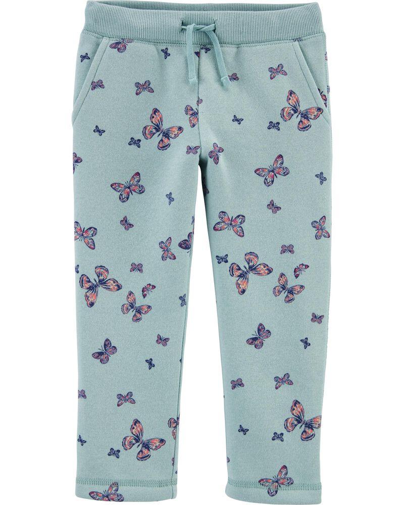 Pantalon en molleton à papillons , , hi-res