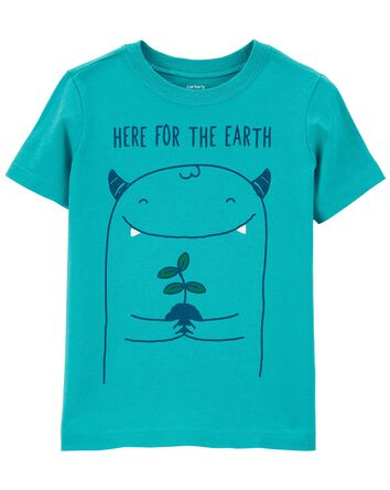 T-shirt en jersey Jour de la Terre