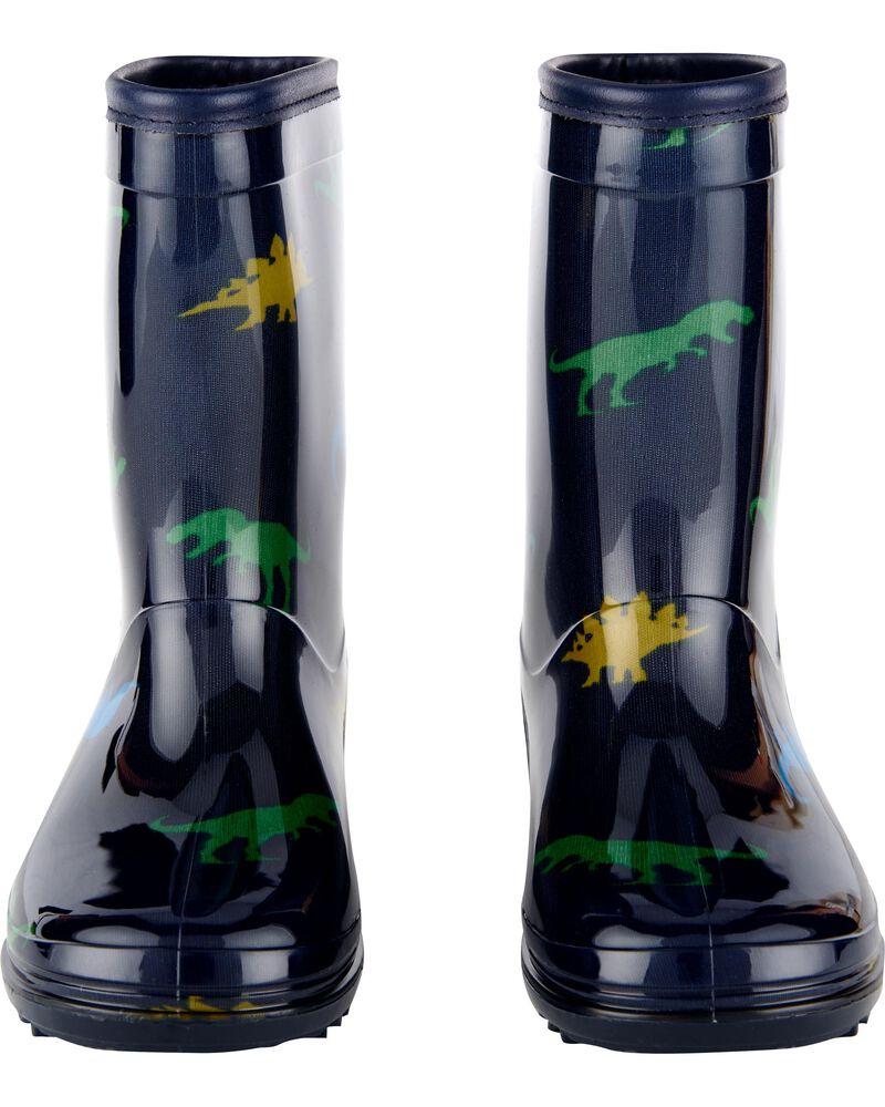 Bottes de pluie à motif dinosaure, , hi-res