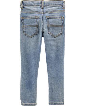 Regular Fit Skinny Jeans - Sun Fade...