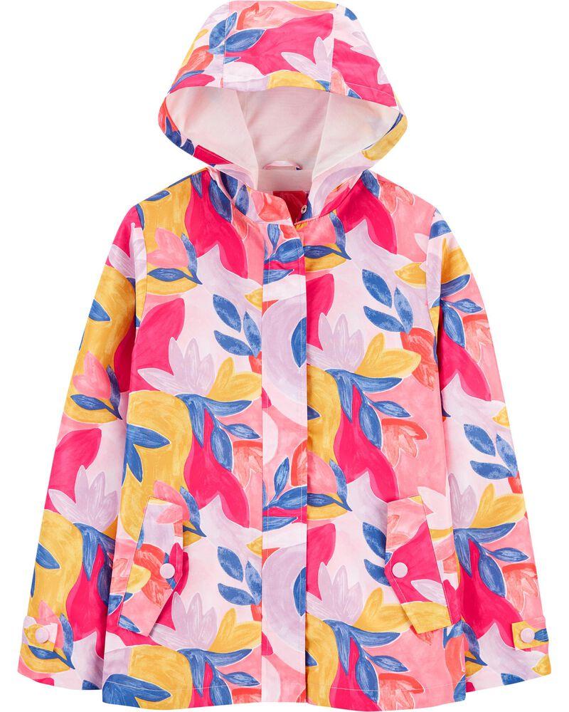 Floral Raincoat, , hi-res