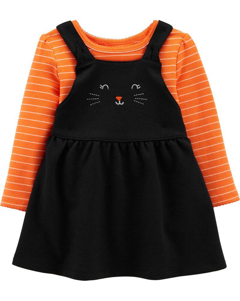 2-Piece Halloween Bodysuit & Jumper Set, , hi-res