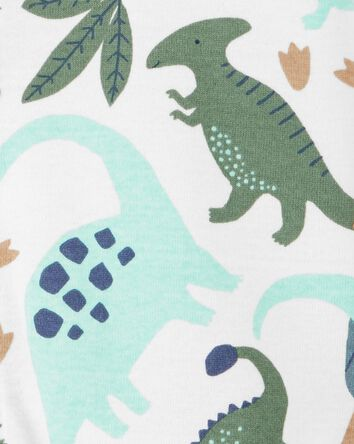 Dinosaur Snap-Front Romper