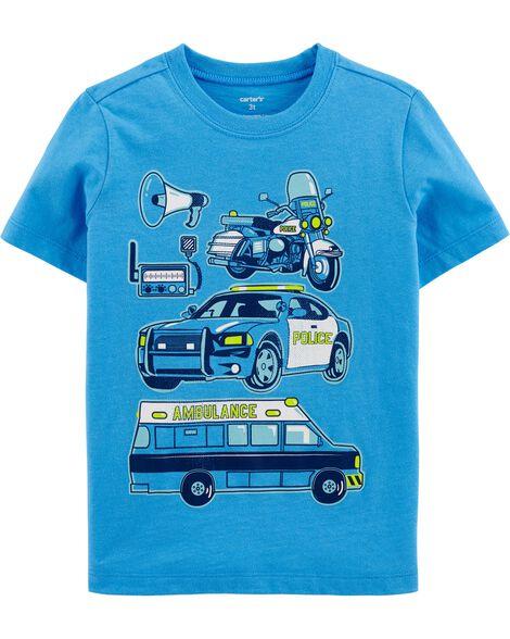 T-shirt en jersey véhicules de héros