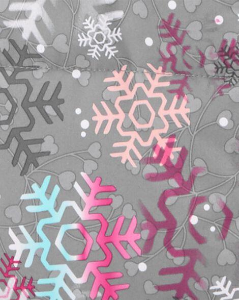 Habit de neige 2 pièces doublé de molleton avec tuque et cache-cou en prime