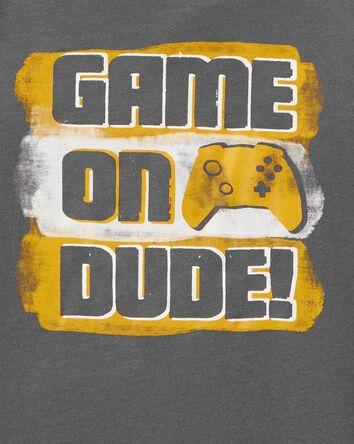 T-shirt en jersey Game On