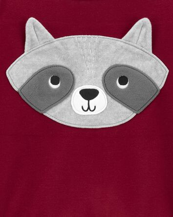2-Piece Raccoon Fleece PJs