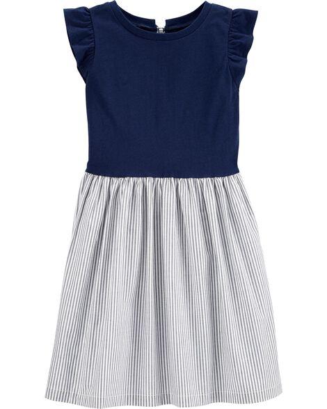 Striped Skirt Dress