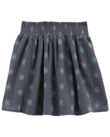 Tween Gauze Pleated Skirt