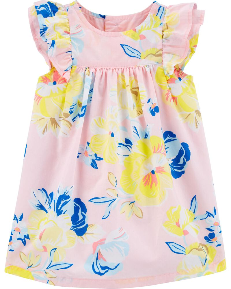 Floral Flutter Dress, , hi-res