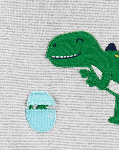 Ensemble 2 pièces cache-couche à dinosaure interactif et pantalon