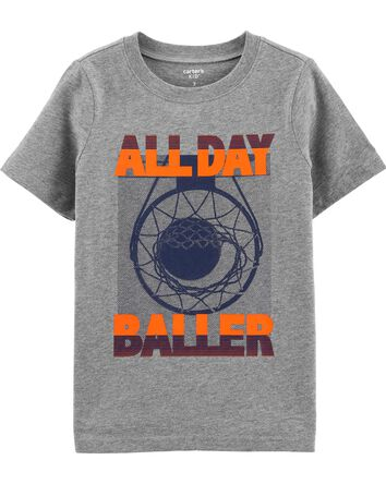 T-shirt en jersey All Star Baller