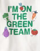 2-Pack Organic Cotton Green Team Bodysuits, , hi-res