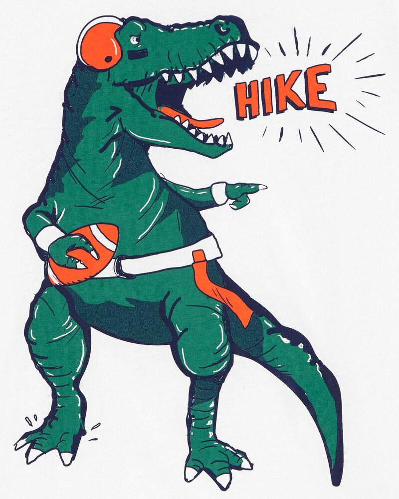 T-shirt en jersey dinosaure football, , hi-res