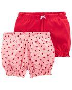 Emballage de 2 shorts bouffants, , hi-res
