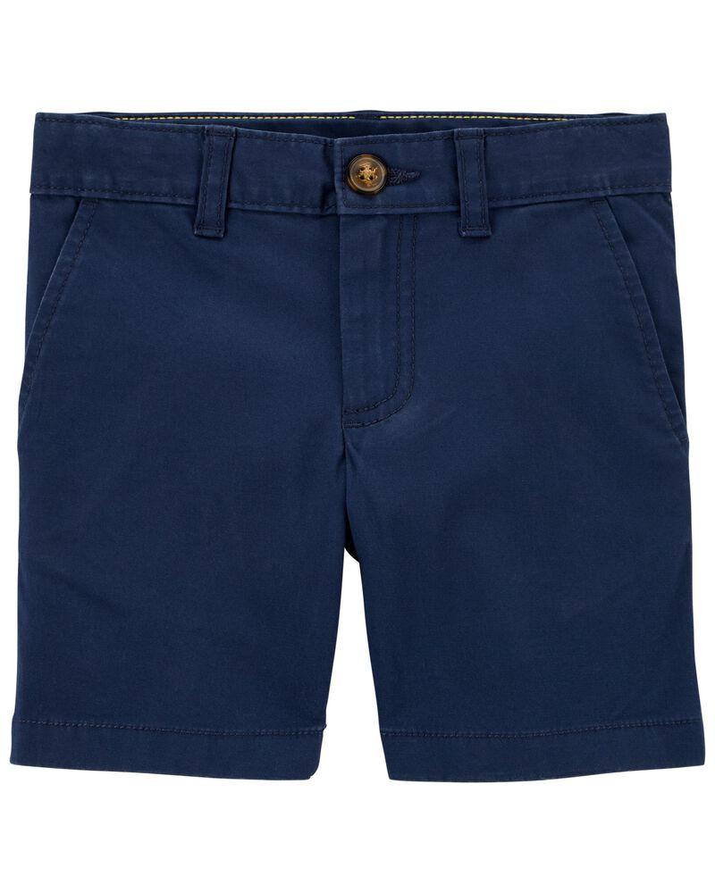 Flat-Front Shorts, , hi-res