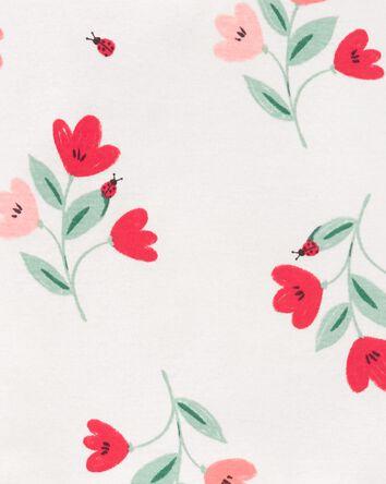 2-Piece Floral 100% Snug Fit Cotton...