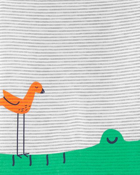 Pyjama 2 pièces en polyester à alligator