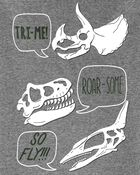 2-Piece Dinosaur Snug Fit Cotton & Fleece PJs, , hi-res