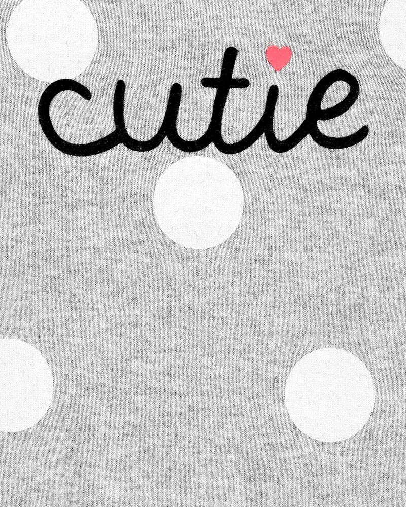 Cutie Polka Dot Bodysuit, , hi-res