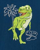 T-shirt à imprimé de tyrannosaure, , hi-res
