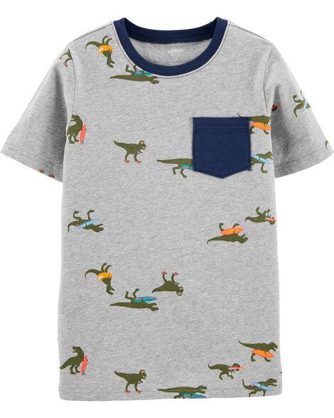 Dinosaur Pocket Jersey Tee