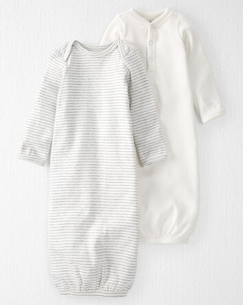2-Pack Organic Cotton Rib Sleeper G...
