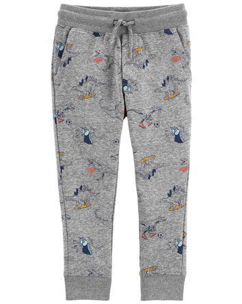 Pantalon de jogging en tricot avec...