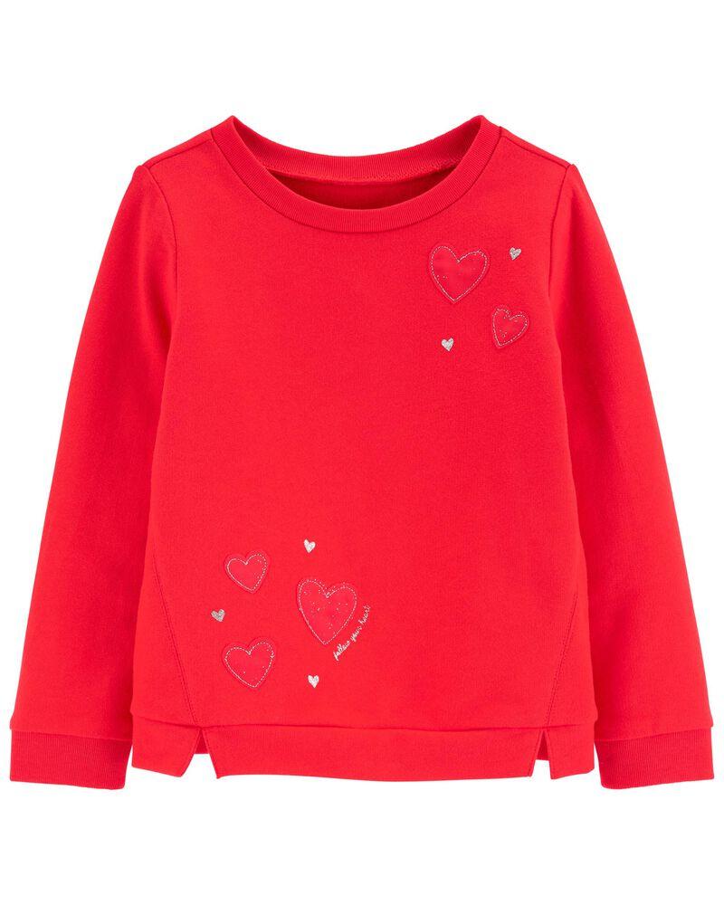 Heart Sweatshirt, , hi-res